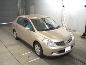Japanese Used Nissan Tiida Latio