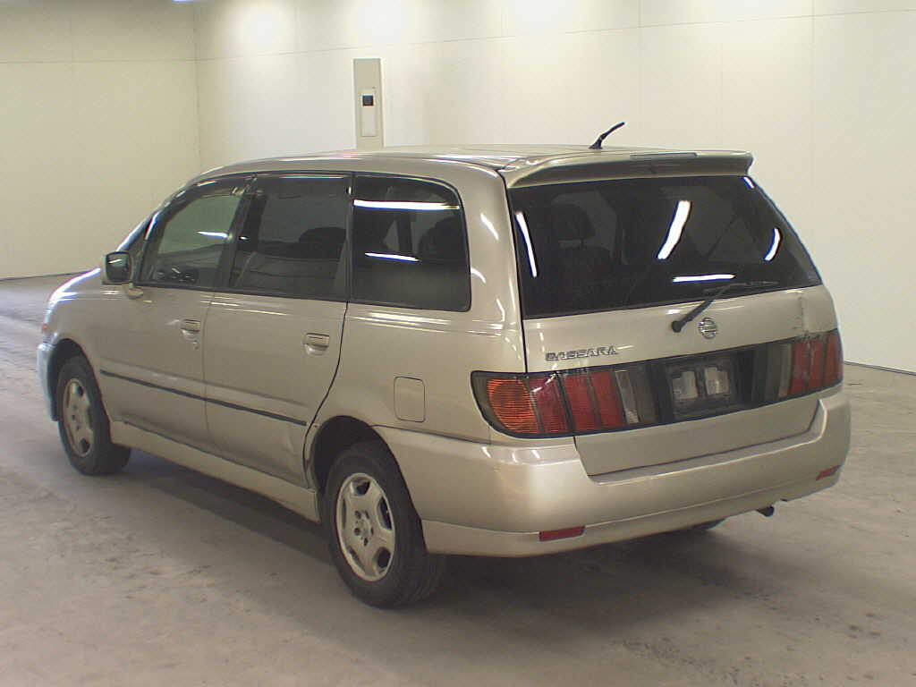 Import directly from Japan Nissan Bassara
