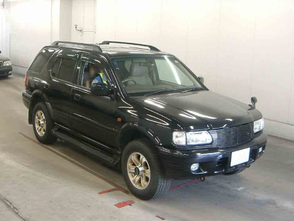 Japanese Used Isuzu Wizard